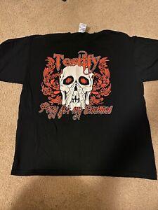 TNA Wrestling Devon Testify USED men's XL vintage wrestling shirt Impact Dudley