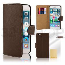 Fundas y carcasas marrones Para iPhone 4 de piel para teléfonos móviles y PDAs