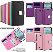 Samsung Galaxy S3 SIII - ModeBlu Multi Card Leather Wallet Flip Pouch Case Cover