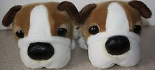 """Lot of 2 Artlist Collection Bulldogs Plush Dogs 12"""" with Tush Tags (Rare)"""