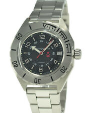 Vostok Komandirskie 650538 Watch Automatic Russian Wrist Watch Black New