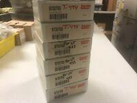 (6) Parker Schrader Bellows B732753  Econo Ram II Piston Seal Kit, Lot Of 6 NEW!