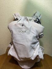 Stokke MyCarrier Baby Carrier Back Carrier, Cream Packable