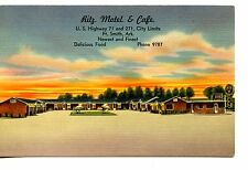 Ritz Motel-Cafe Restaurant-Fort Smith-Arkansas-Vintage Advertising Postcard