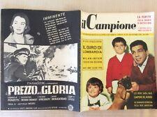 BOXE 1956 DUILIO LOI  CICLISMO COPPI CALCIO DERBY MILAN INTER MIKE BONGIORNO