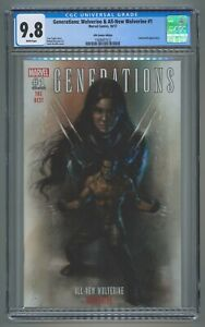 CGC 9.8 Generations: Wolverine & All-New Wolverine #1 KRS Comics Edition