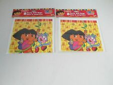 DORA THE EXPLORER PARTY FAVOR LOOT GIFT BAGS -- LOT OF 2 PACKS PARTY SUPPLIES