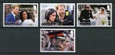 South Georgia & Sandwich Isl 2018 MNH Prince Harry & Meghan 4v Royalty Stamps