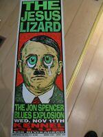 Jesus Lizard - original USA Poster von Kozik