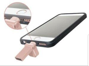 NEW Adata 32GB Lightning Flash Drive for iPhone, iPod, iPad, iOS | Rose Gold
