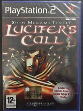 Sony PS2 Playstation 2 Shin Megami Tensei Lucifer's Call FACTORY SEALED >RARO<