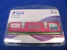 A-DATA 2GB 204-Pin DDR3 SO-DIMM DDR3 1066 (PC3 8500) Desktop Memory New       G3