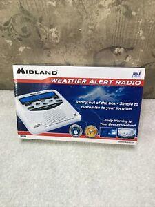 New NOAA Emergency Weather Alert Radio, S.A.M.E. Programming, Midland - WR120B