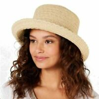 Nine West Womens One Size Fits Most Packable Kettle Hat UV Protection Sun Safe