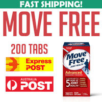 Schiff Move Free 200 tablets Joint Health Pain Glucosamine Chondroitin Plus MSM