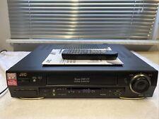 JVC HR-S7711 S-VHS-Videorecorder SVHS-ET TBC inkl. FB, BDA, 2 JAHRE GARANTIE