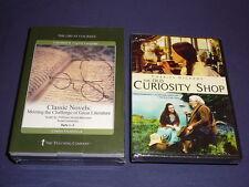Teaching Co Great Courses  DVDs         CLASSIC  NOVELS       brand  new + BONUS