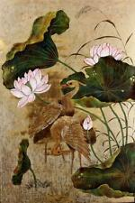 Japanese Painting Of Cranes
