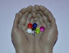 Billes piercing UV Néon  Billes 1.6x 6 mm,  piercings langue Nombril cb