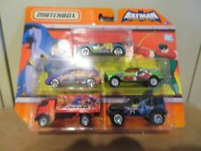 Matchbox Batman The Brace and the Bold DC 5 Pack Set Joker Green Arrow Grood MOC