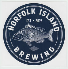 NORFOLK ISLAND BEER LABEL