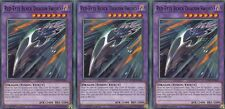 YuGiOh CARD -  3 X RED-EYES BLACK DRAGON SWORD LEDD-ENA43 LEGENDARY DRAGON DECK