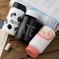 Cartoon Vacuum Cup Stainless Steel Thermos Cup Bottle Mug Insulated Kids Adult