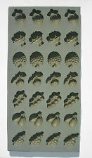 Voorhees 28 Cavity Fruit Rubber Candy Mold - mint maple chocolate Free shipping!