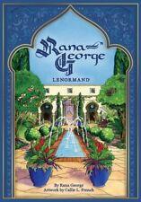 RANA GEORGE LENORMAND GUIDANCE TAROT CARDS DECK :LEBANESE FOLKLORE CAT ResQ