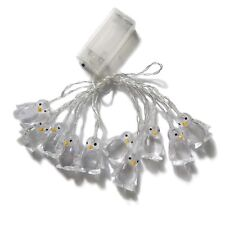 1.65M 10LEDs Battery Operated Decorative Penguin Shape String Light for Home RGB