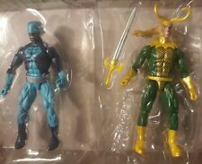 LOT OF MARVEL LEGENDS FIGURE LOKI ASGARD ROCK PYTHON HULK WAVE BAF LOOSE ACTION