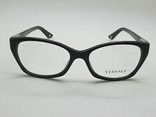 b7c130f341c2 NEW Authentic VERSACE Mod. 3170-B GB1 Shiny Black 54mm RX Eyeglasses