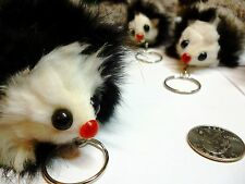 Soft Fuzzy Mouse Keychain - - - Buy One Get One