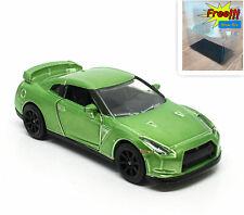 Majorette Nissan GT-R GTR Metallic Green 1:61 214D no Package Free Display Box