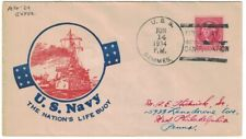 USS SEMMES June 14, 1934, FIRST DAY / CANCELLATION, Ioor cachet