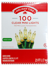Holiday Time 100 White Christmas Wedding Mini Lights String in/outdoor