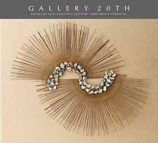 WOW! HUGE MID CENTURY MODERN KINETIC WALL ART SCULPTURE! 1970 HARRY BERTOIA ERA!