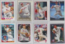8 different Cliff Lee cards /  Philadelphia Phillies