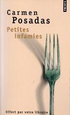 CARMEN POSADAS - PETITES INFAMIES - POINTS