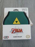 The Legend of Zelda Twilight Princess Game Wallet Nintendo Wii New Damaged Pack