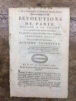 Les Adieux de La Fayette 1791 Hermigny Boissise Ordre de Saint Louis Révolution