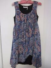 BEAUTIFUL  LIGHT WEIGHT, LOOSE. DRESS ,SIZE  10 BY MILLERS
