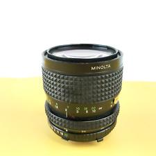 Minolta MD Zoom Rokkor-X 35-70mm f3.5 Manual Focus Lens, Black #U9922