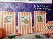 Halloween Pumpkin Alphabet ABC Cross Stitch Chart