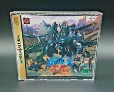 Quo Vadis 2 Sega Saturn Game 2 Discs + Manual SS Japan NTSC-J