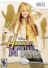Hannah Montana : Spotlight World Tour - NINTENDO WII - EX DISPLAY - PAL VERSION