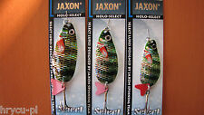3 x JAXON BLINKER KARAUSCHE SCOT  24g,18g,16g