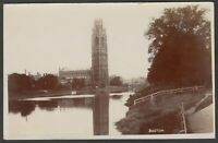 Postcard Boston Lincolnshire early view of The Stump RP by local E W Peakome