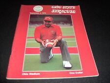 ORIGINAL OHIO STATE FOOTBALL PROGRAM VS.SYRACUSE SEPTEMBER 8, 1979