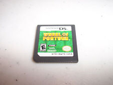 Wheel of Fortune (Nintendo DS) Lite DSi XL 3DS 2DS Game